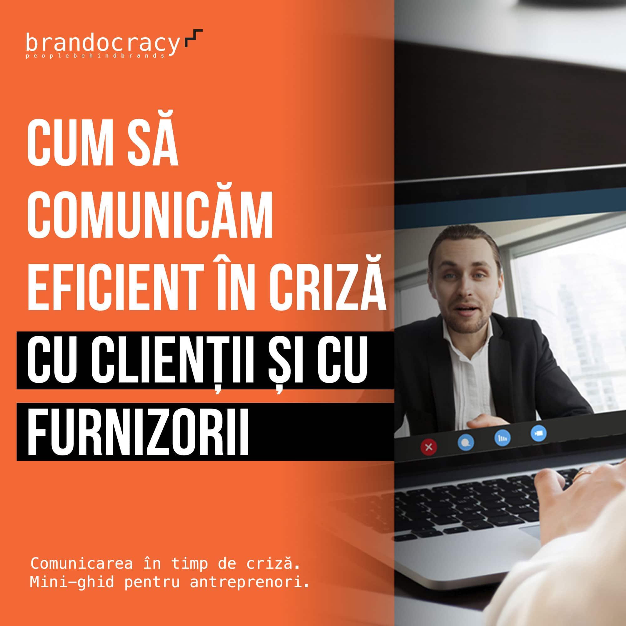 Cum să comunicăm eficient în criză cu clienții și cu furnizorii